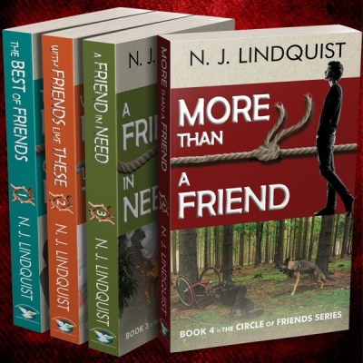 New Book Release – More Than a Friend