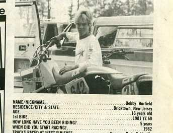 Raceway News Flashback 1986