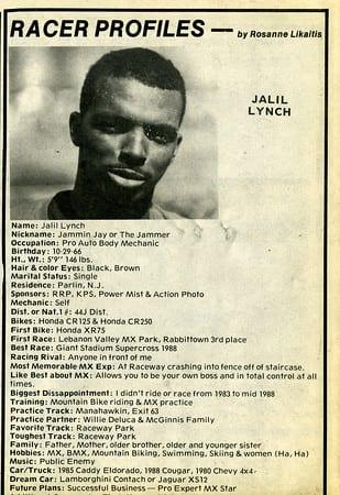 Raceway News Flashback 1989