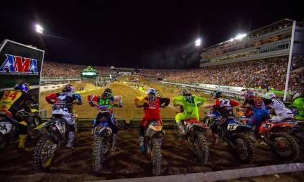 2017 Monster Energy Supercross Championship Races into  East Rutherford, NJ