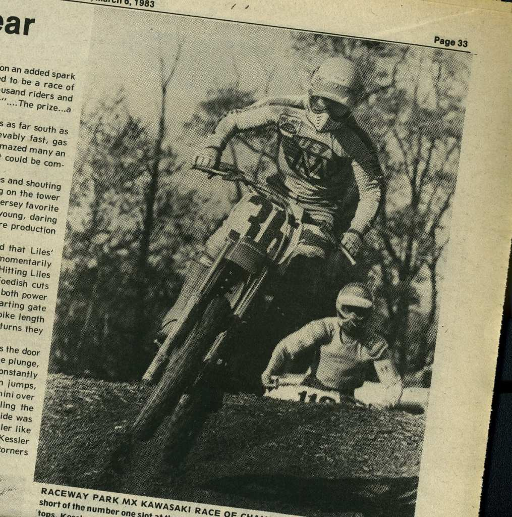 mickey kessler raceway news 1982