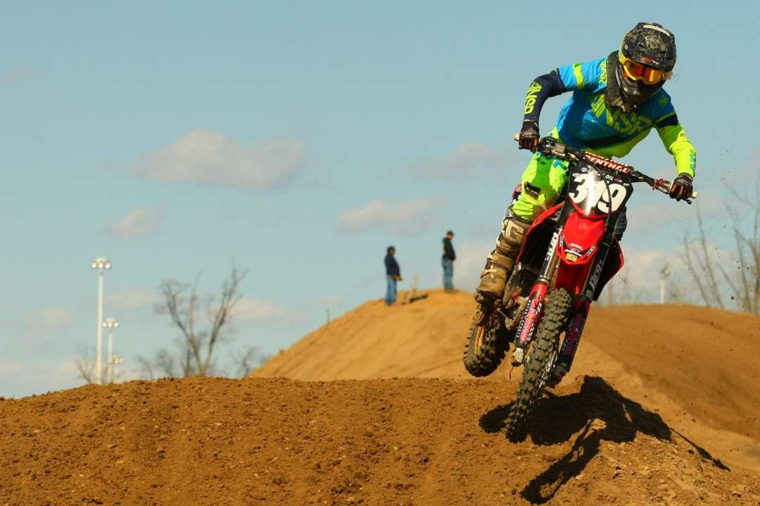 Coty Schock won all 4 of his motos for both the 250 and 450 Expert class wins.