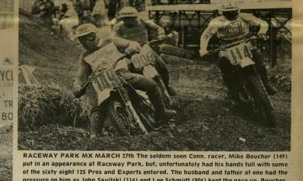 Raceway News Flashback – 1983 Mike Boucher