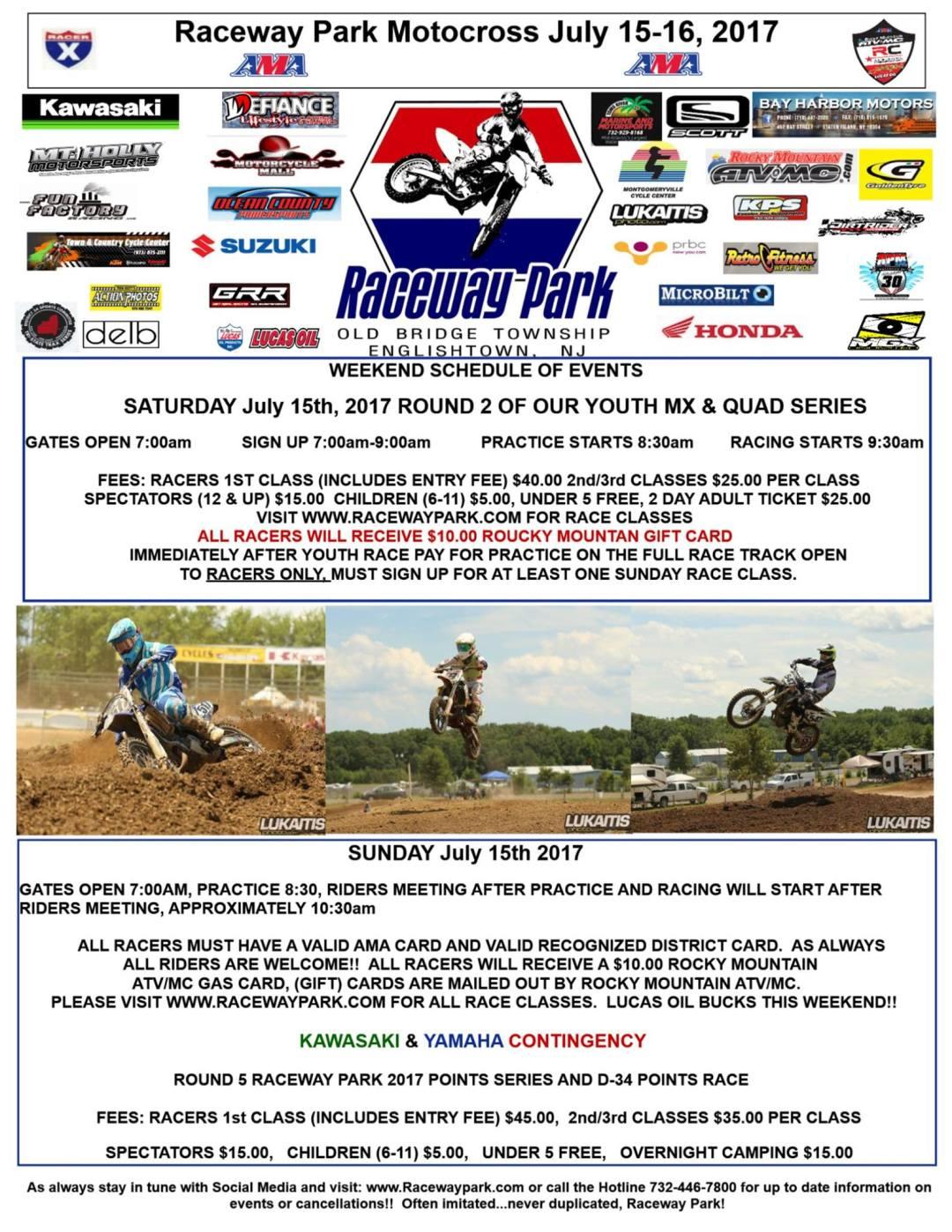 raceway park july 15 & 16