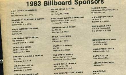 Raceway News Flashback- Shops Ads 1983