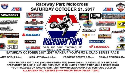 Raceway Park Motocross – Next Weekend