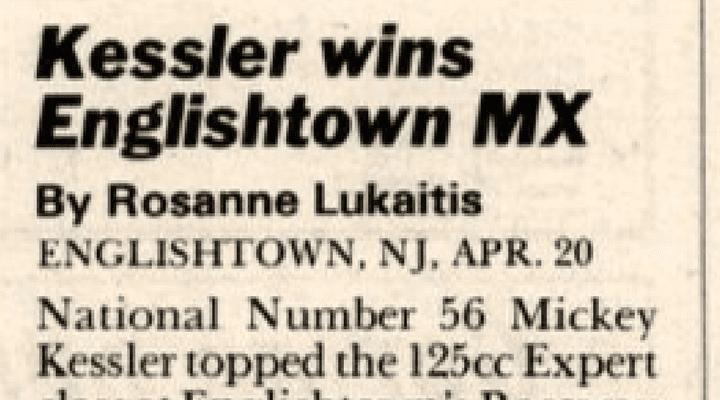 Raceway Park Results 4/20/86