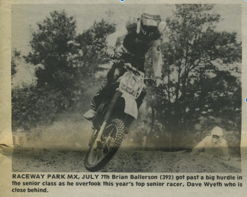 raceway news flashback ballerson