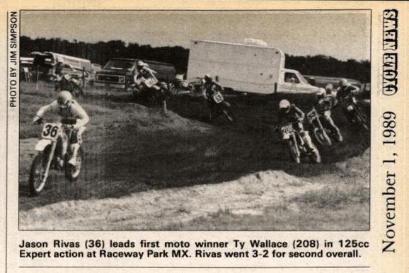 raceway park motocross 10/1/89