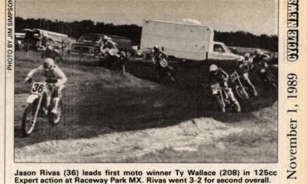 Raceway Park Results 10/1/89