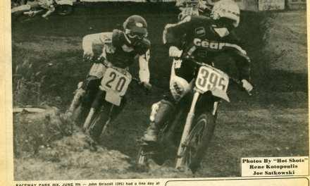 Raceway News Flashback – John Driscoll