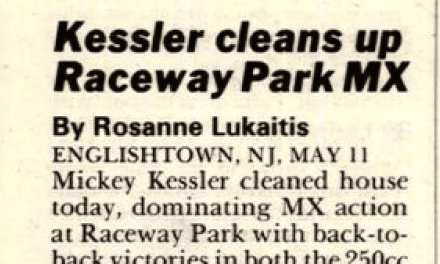 Raceway Park Motocross Results 5/11/86