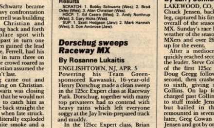 Raceway Park Results 4/5/87