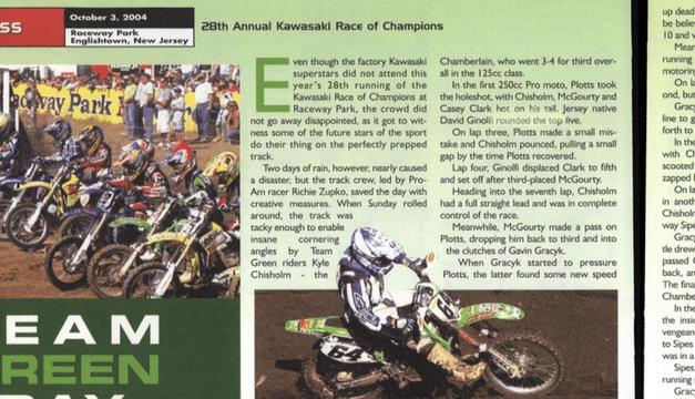 Raceway Park Results KROC 2004