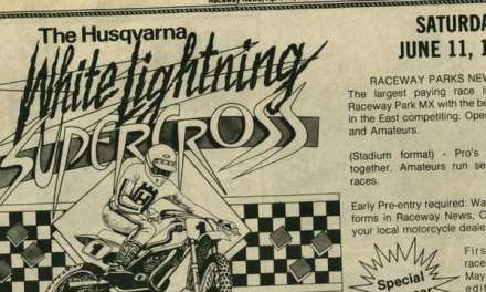 Husqvarna White Lightning Results – 1983