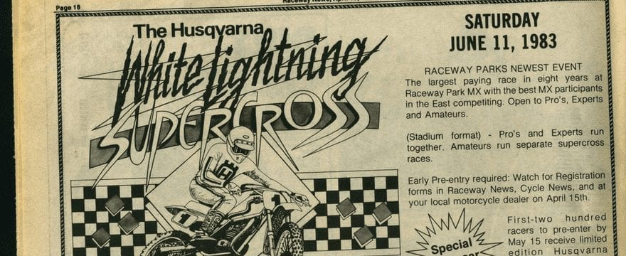 Husqvarna White Lightning Results – 1983