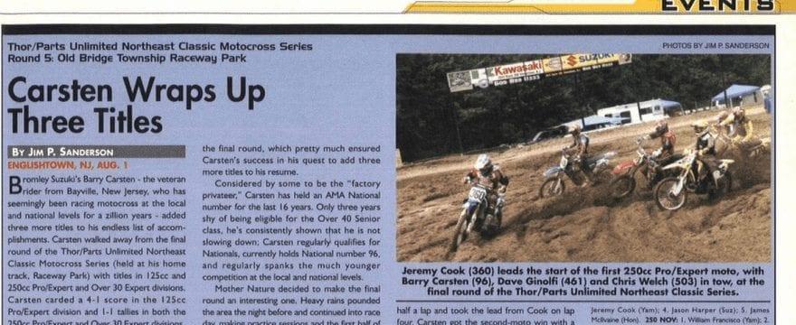 Raceway Park Results 8/1/04