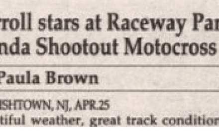 Raceway Park Results 4/25/93