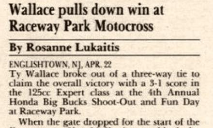 Raceway Park Results 4/22/90