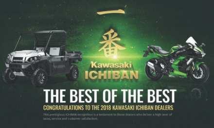 Kawasaki Congratulates 2018 Ichiban Dealers