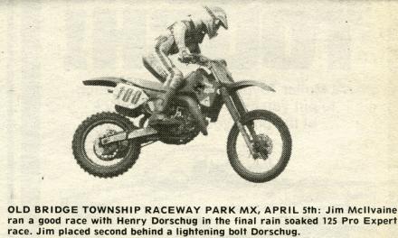 Raceway News Flashback – Jim McIlvaine 1987
