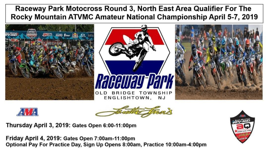 Raceway Park Weekend Information 4/5-7/19