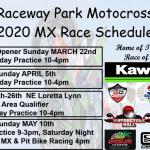 2020 Raceway Park Schedules and class updates