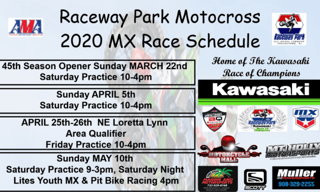 2020 Raceway Park Schedules and class updates