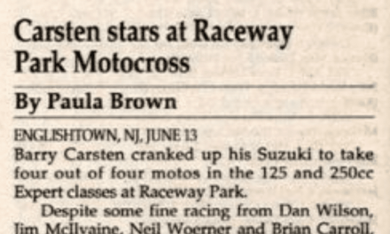 Raceway Park Results From 6/13/93