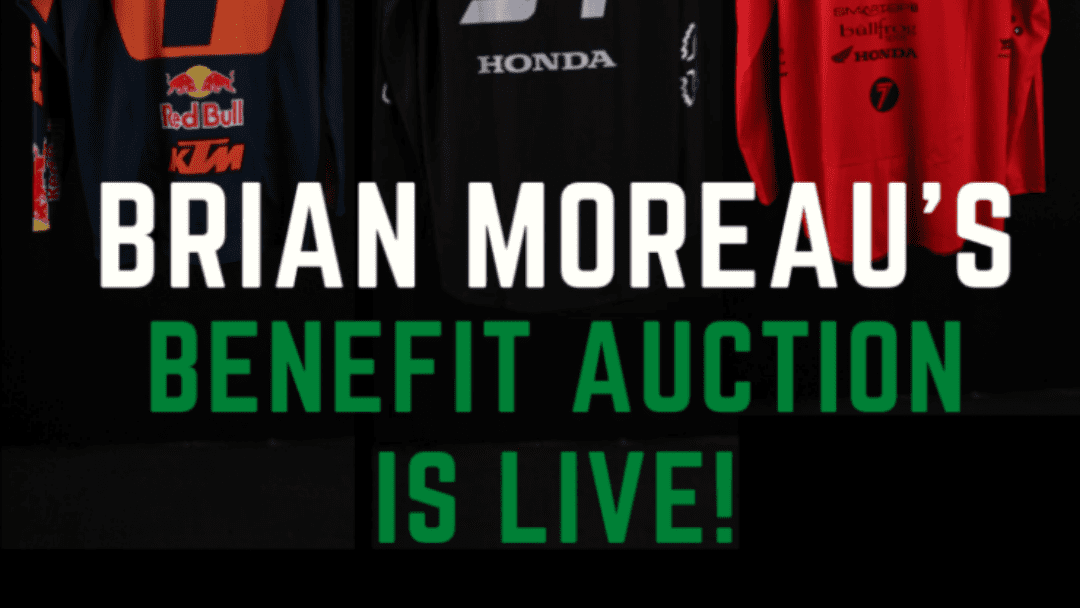 ROAD 2 RECOVERY ANNOUNCES EBAY AUCTION TO BENEFIT BRIAN MOREAU
