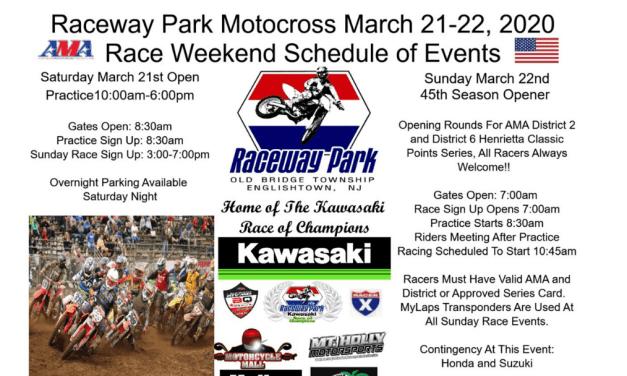 Raceway Park First Race of the Season – March 22