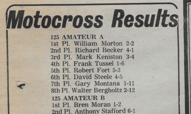 Raceway Park Results from 7/1/79