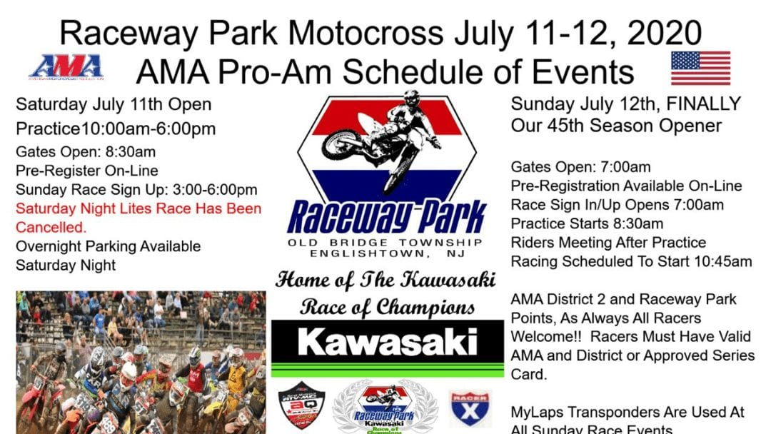 Raceway Park is back racing – July 11-12