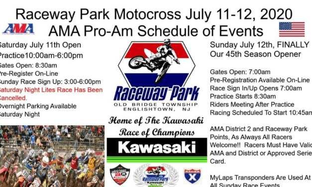 Raceway Park is back racing – July 11-12