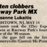Raceway Park Results from 5/14/89