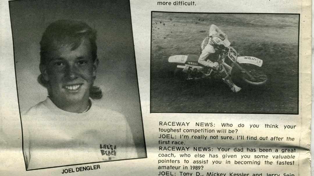 Joel Dengler Interview – 1989