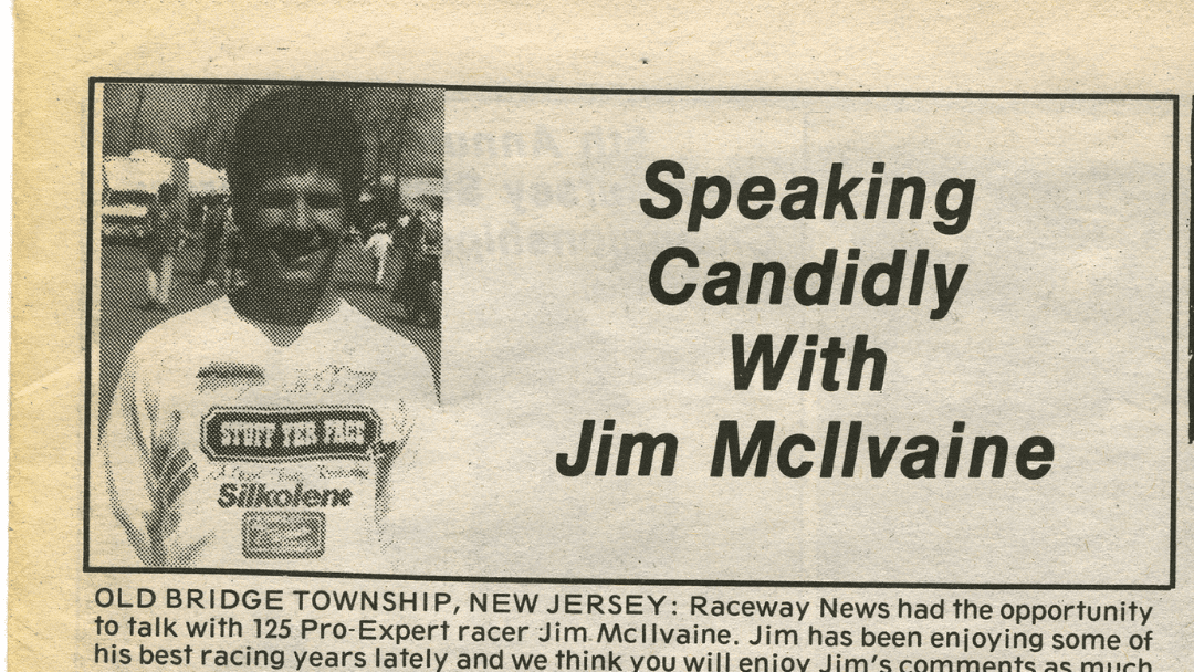 Checking in with Jim Mcilvaine – 1990 Interview