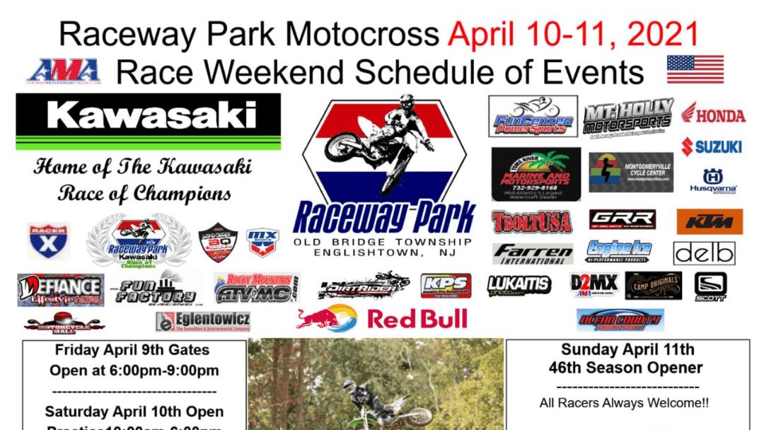 Raceway Park Opening Day Weekend 2021