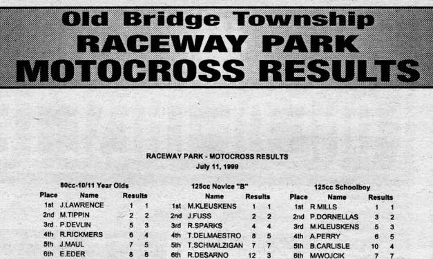 Raceway Park Results from 7/11/99