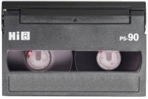 Hi8 camcorder tape transfer to dvd or digital video file
