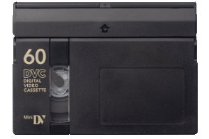 Mini DV camcorder tape transfer to dvd or digital video file