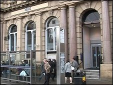 Royal Bank of Scotland, Church Street inaccessible to wheelchair
