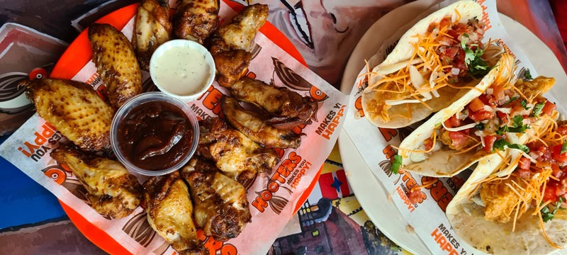 Wings und Wraps