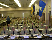 NJSP recruits in the classroom