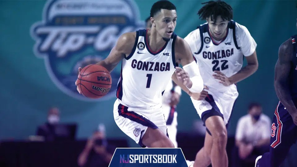 No. 1 Gonzaga takes on No. 11 West Virginia in the Jimmy V Classic on Wednesday.