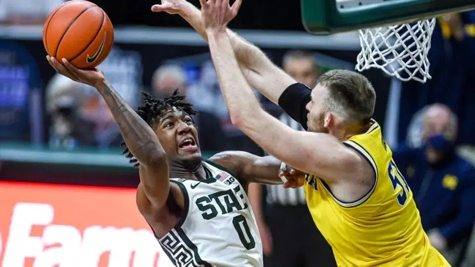 The Michigan State Spartans take on the UCLA Bruins in a First Four matchup of two storied programs on Thursday night.