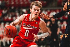 The Texas Longhorns face the Texas Tech Red Raiders in a Big 12 tournament quarterfinal contest from Kansas City on Thursday.