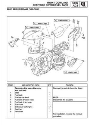 yamaha ttr 125 repair manual free download – driserv