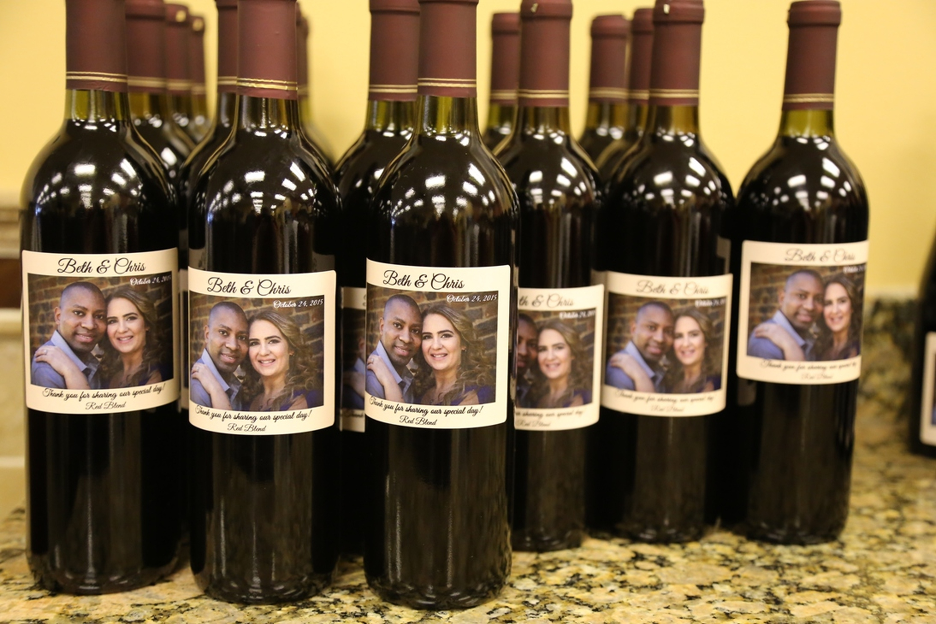 Custom Wine Bottle Wedding Favors Your Own Winery