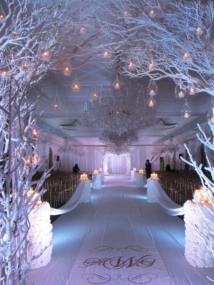 Winter Wonderland Wedding Flowers By Amaryllis Event Decor